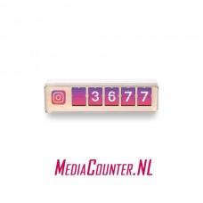 Smiirl Instagram Counter 5 digits