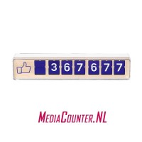 Smiirl Facebook Counter 7 digits