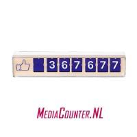 Smiirl Facebook Counter 7 digits